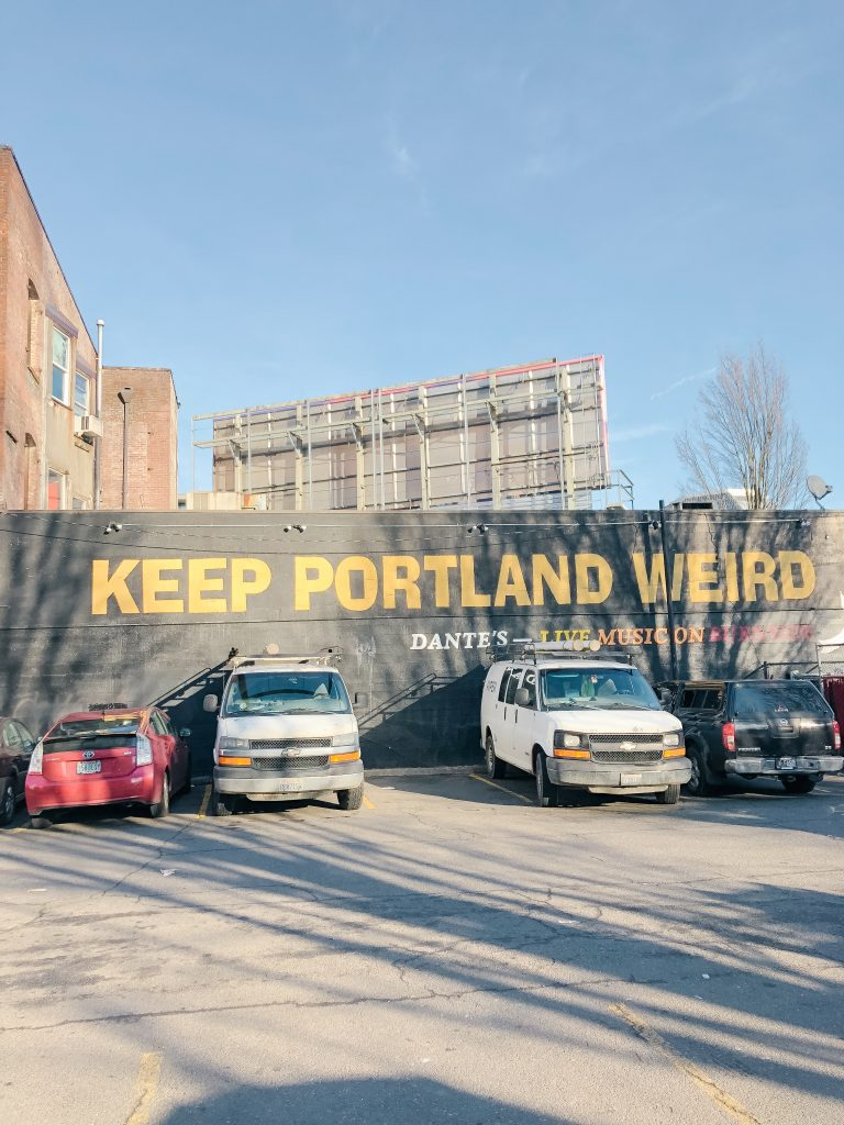 Keep Portland, Oregon Weird