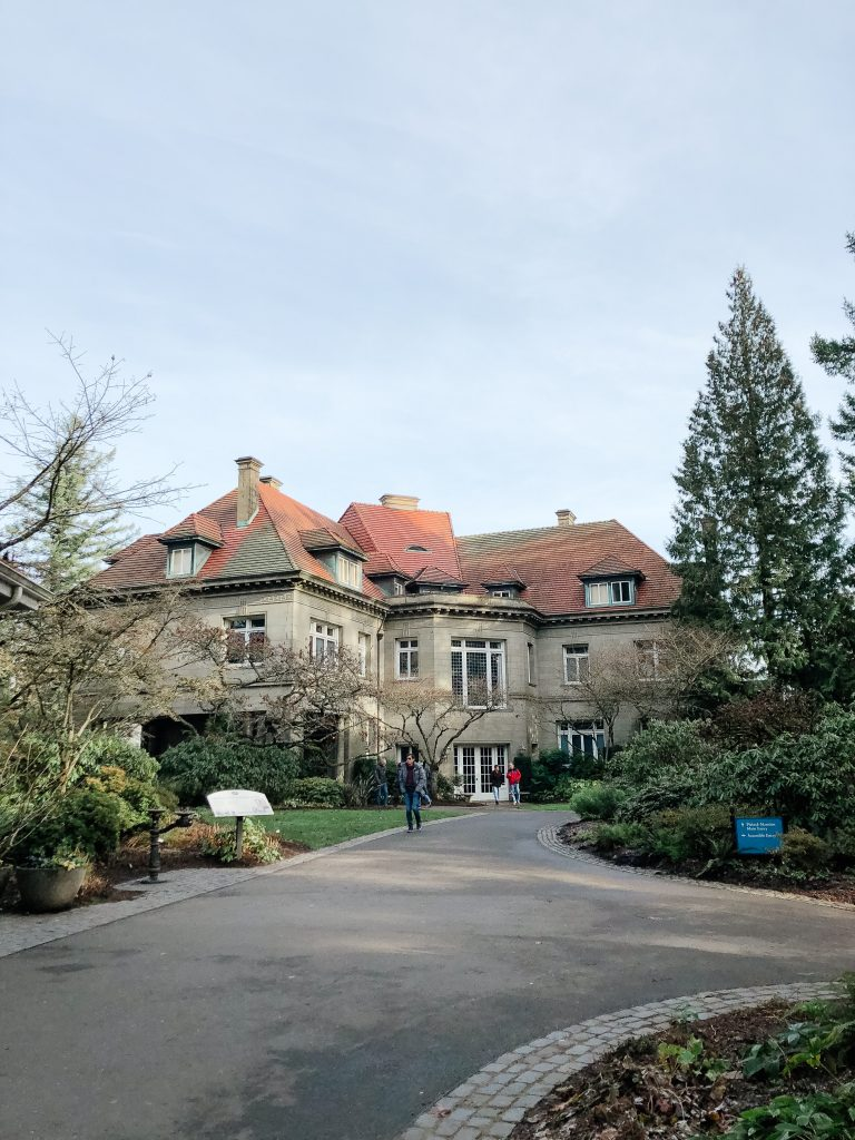 Pittock Mansion in Winter