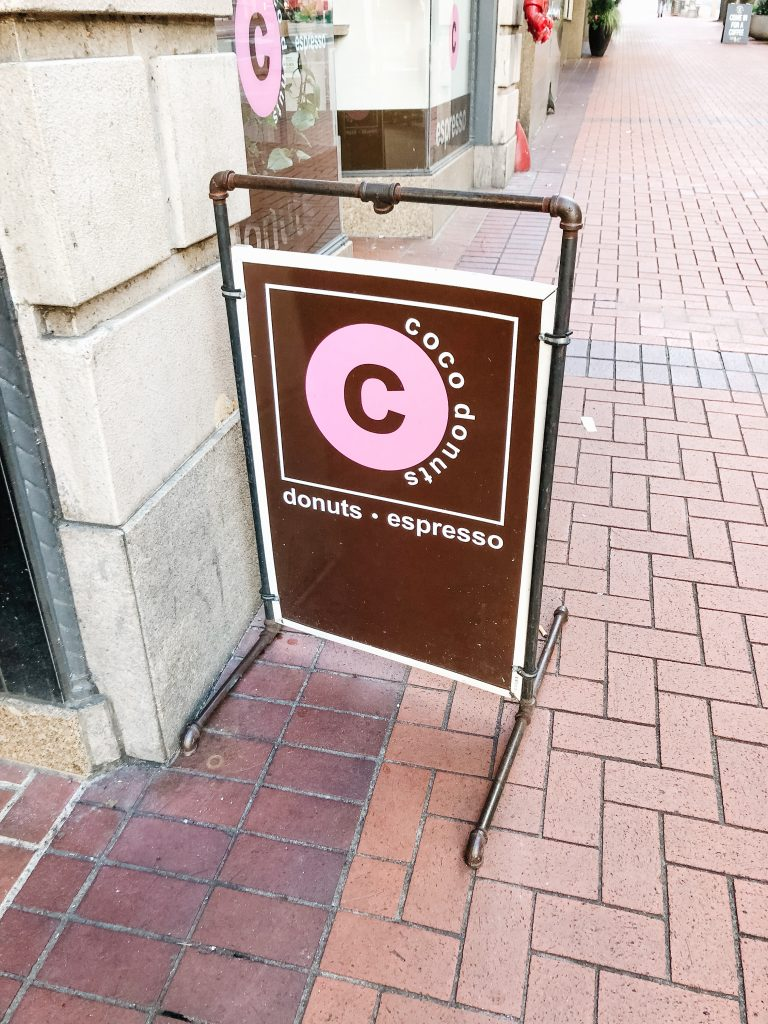 Coco Donuts Sign